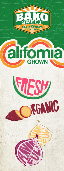 Bako Sweet Produce: California Grown