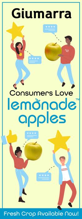 Consumers Love Lemonade Apples