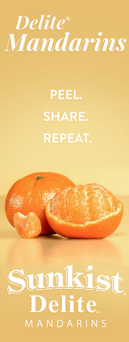 Peel. Share. Repeat. With Sunkist Delite Mandarins