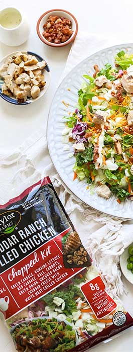 Taylor Farms - Chicken Salad Kits - PMA Booth 2173