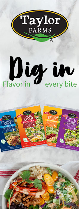 Taylor Farms - Introducing 4 New Chop Salad Kits - Dig In Flavor in Every Bite