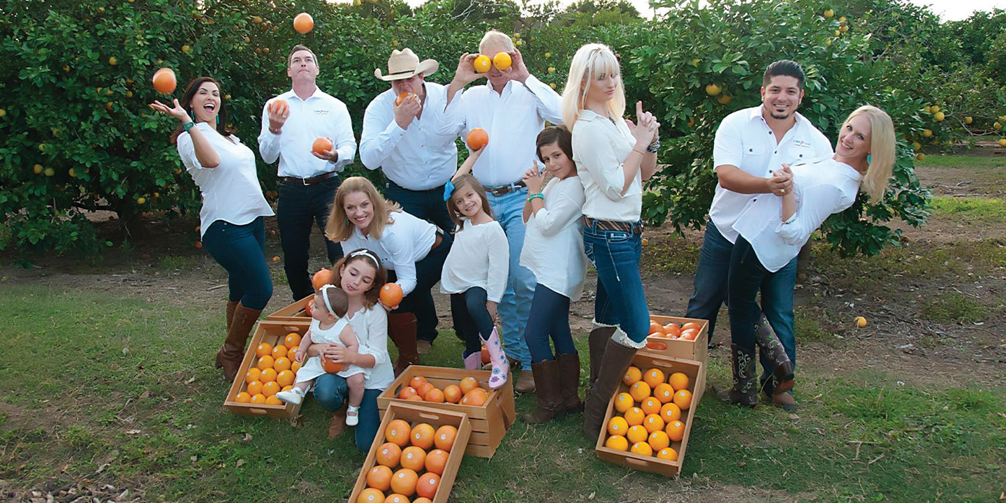 The Lone Star Citrus Family with their Rio Star grapefruit which brings flavor, differentiation, and vibrancy to the produce aisle