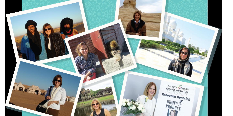 Julie Krivanek travels to various places