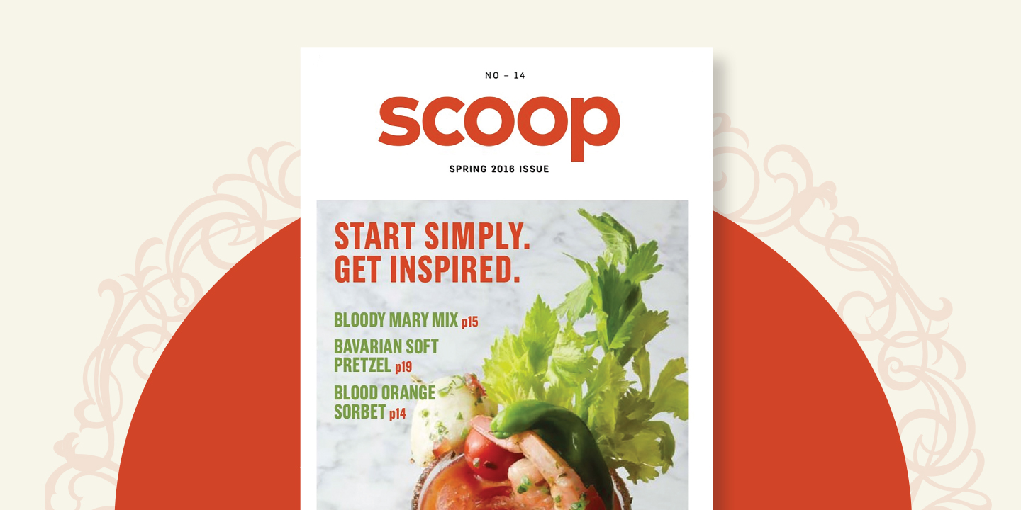 US Food's Scoop Magazine