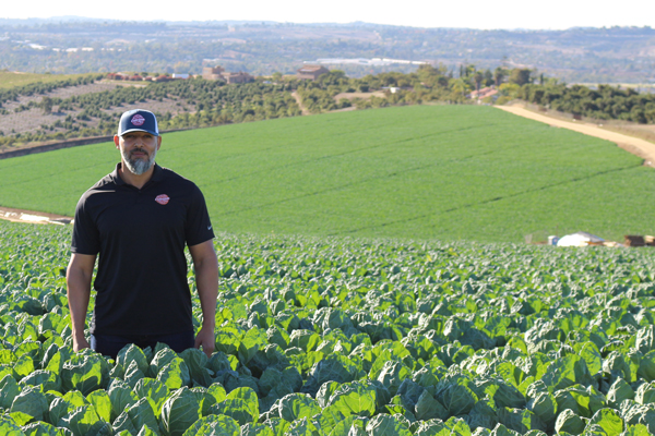 Andino Beniquez, Specialty Packaging Manager, West Coast Tomato Growers