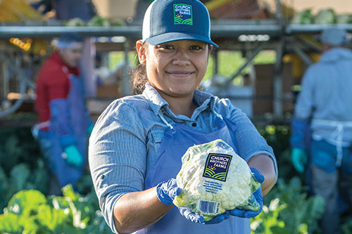 Since 1999, Church Brothers Farms has grown from five employees to more than 2,500