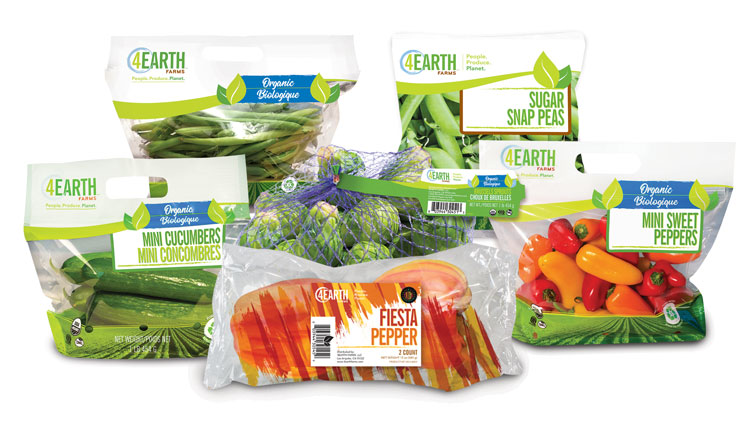 Over 97 percent of 4Earth Farms' packaging is recyclable, with a goal of going 100 percent by 2021