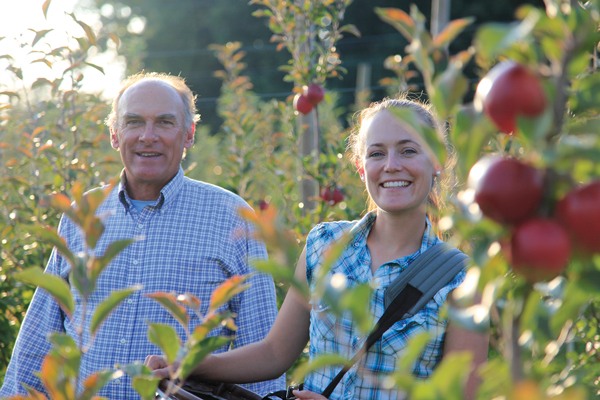 Jeff and Jenny Crist of Crist Brothers Orchards