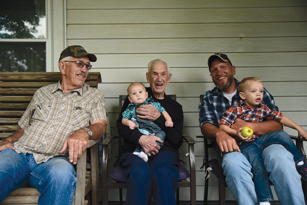 Four generations of Kast Farms