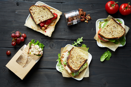 Farmer's Fridge provides salads, wraps, and soups to bowls, sandwiches, proteins, snacks and drinks