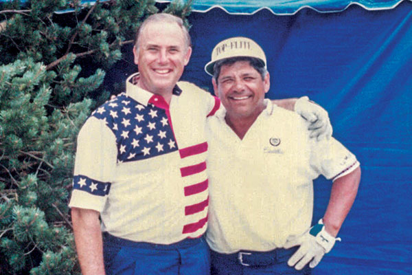 The Bob Hope Golf Classic brought John Giumarra, Jr. together with individuals like the unforgettable Lee Trevino