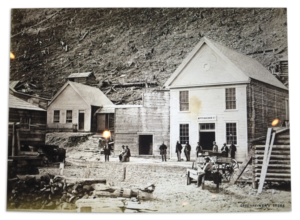 One of the original Oppenheimer stores in Barkerville, British Columbia
