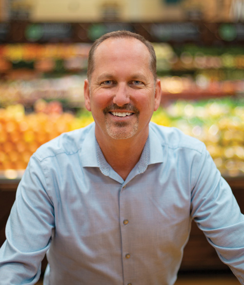Greg Corrigan, Senior Director of Produce and Floral, Raley's