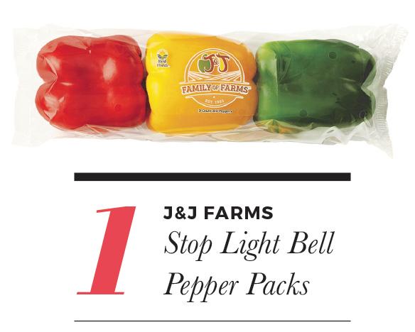 J & J Farms Stop Light Bell Pepper Packs