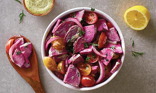 Stokes Purple Sweet Potato Salad