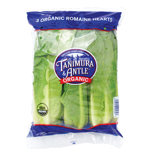 Organic Lettuce from Tanimura & Antle