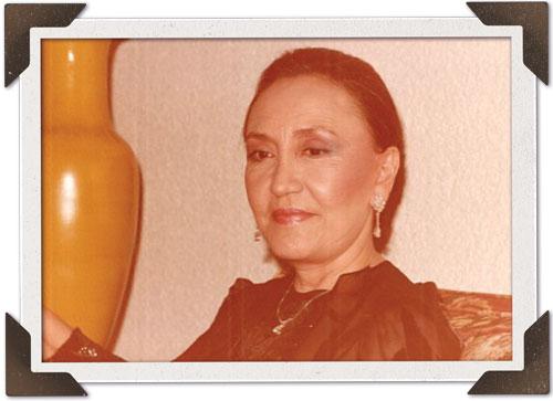 """Elva """"Vita"""" Carlota Podesta. C. 1980."""