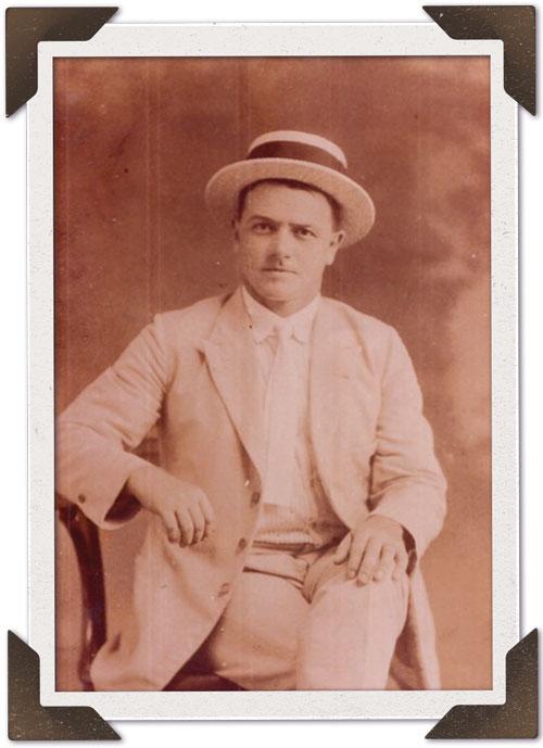 Julio Podesta Sambuceti as a young man.
