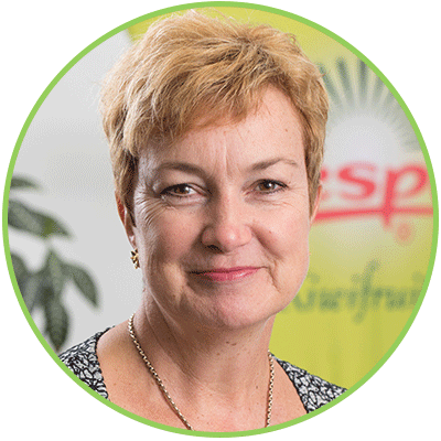 Carol Ward, Chief Innovation and Sustainability Officer, Zespri International Limited
