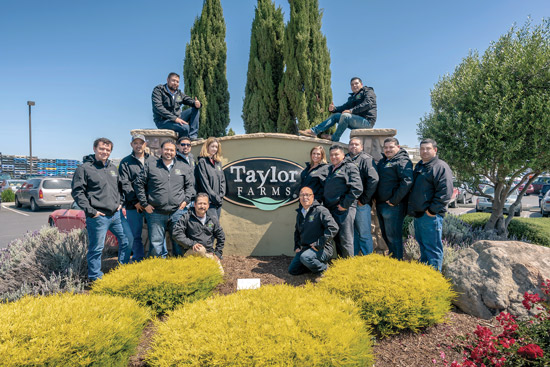 Taylor Farms' Gonzales, California, facility Green Team