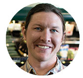Chris Miller, Regional Coordinator of Produce, Meat, Bulk, Seafood, Cheese, MOM's Organic Market