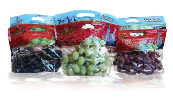 Castle Rock's table grapes