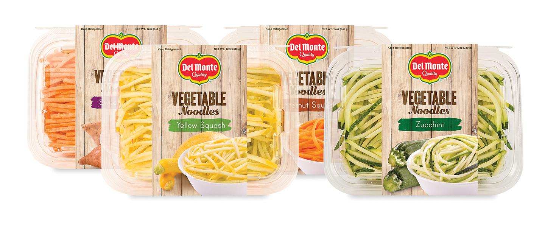 Del Monte® Vegetable Noodles address a growing demand