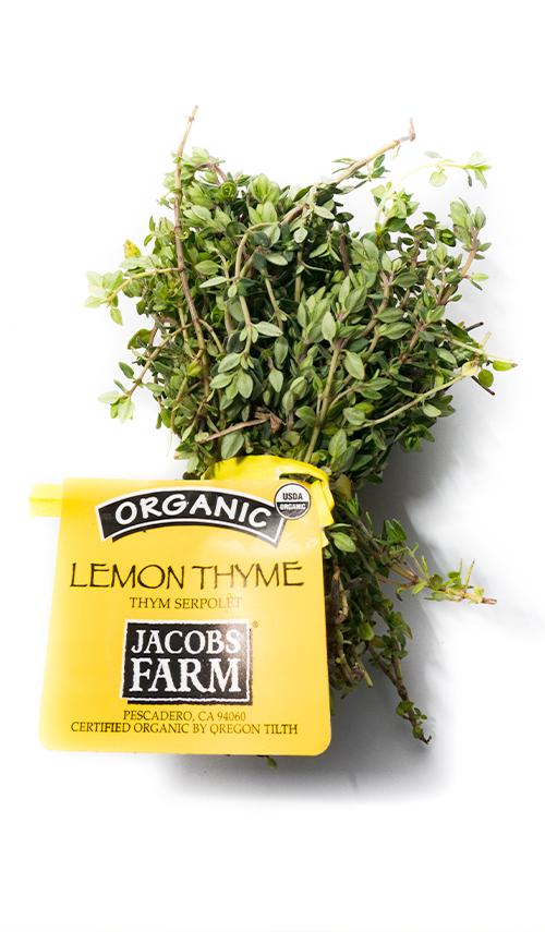 Jacobs Farm del Cabo's organic lemon thyme