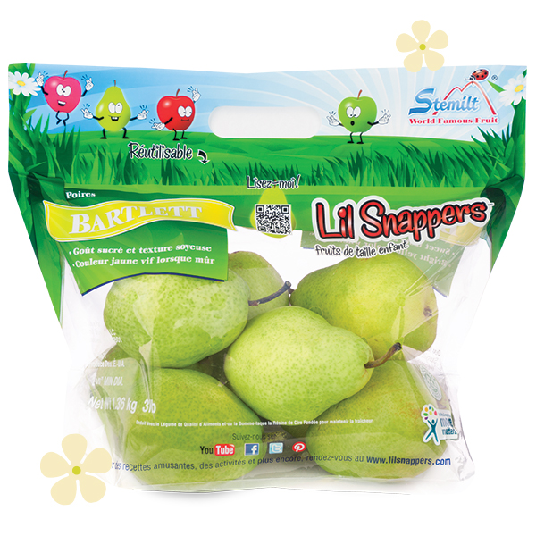 Stemilt Lil Snappers® Pear Pouch Bag