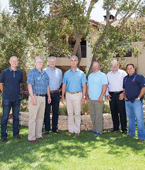 Glenn Davis, Gerry Odell, Drew Yurko, Kent Shoemaker, Bo Bates, Toby Purse, and Darren Micelle in Napa, CA