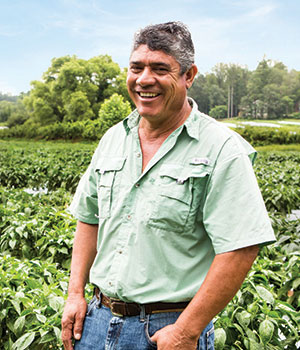 Ebelio Perez is part of Lipman's Local network and farms in North Carolina