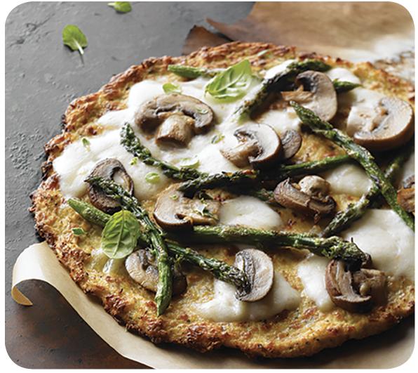 Cross Valley Farms® Riced Cauliflower Crust Pizza