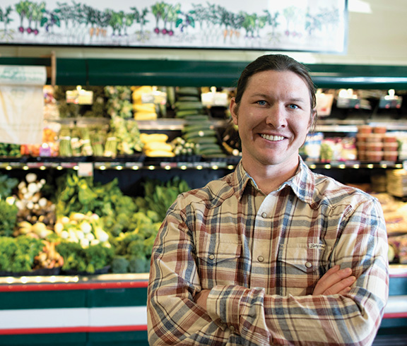 Chris Miller, Regional Coordinator for Produce, Meat, Seafood, Cheese, and Bulk.