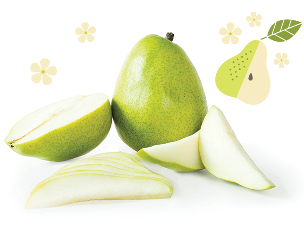 Operation Flavor Anjou Pears retain their texture, juiciness, and super sweet flavor