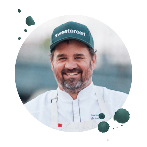 Michael Stebner, Director of Culinary, sweetgreen