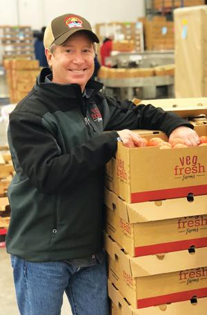 Mark Widder, General Partner, began Veg-Fresh Farms alongside Dino Cancellieri, Sr.