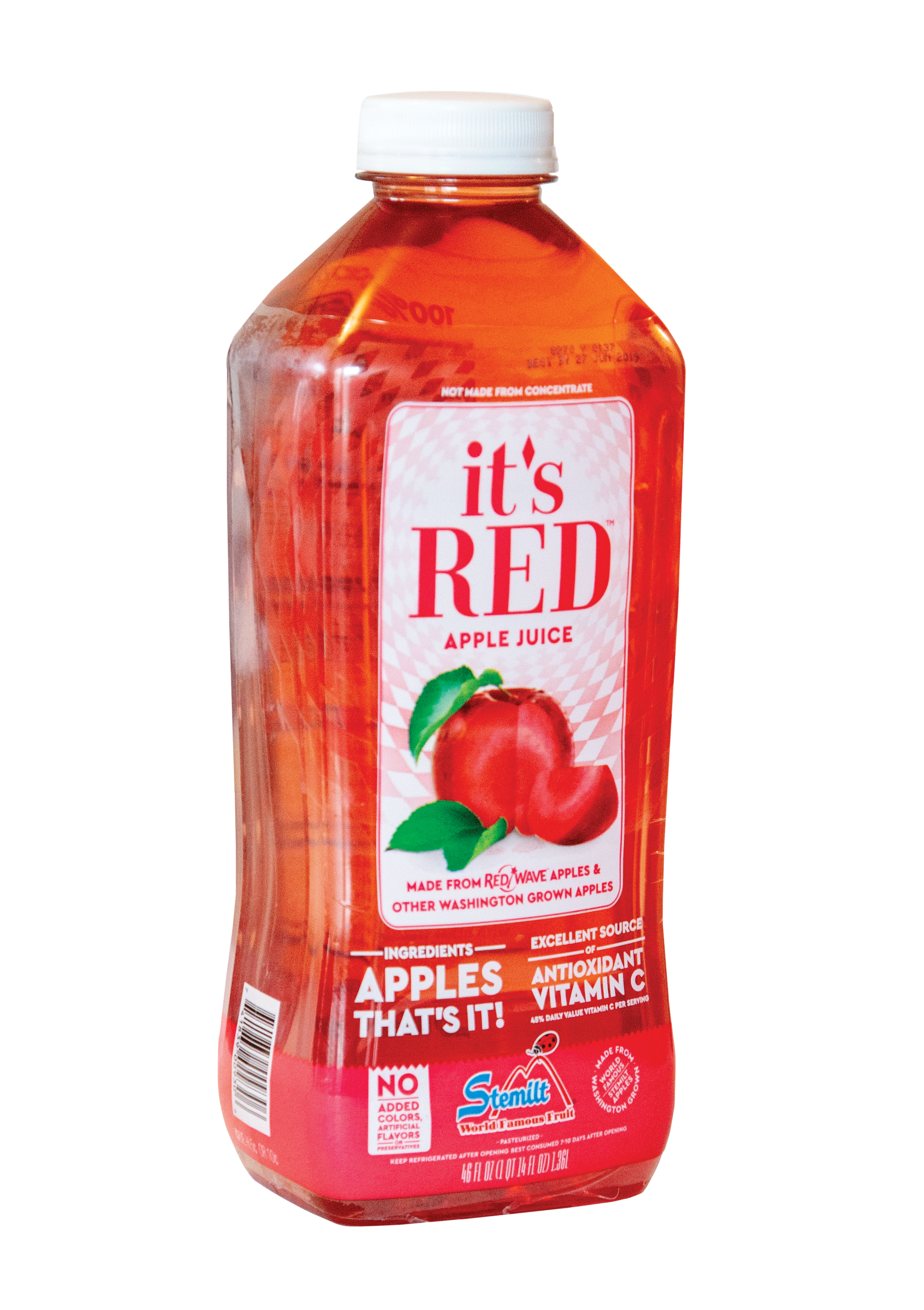 A Closer Look at Stemilt It's Red® Apple Juice | www