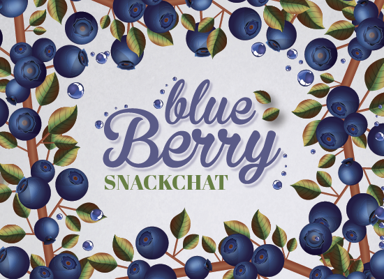 Blueberry Snackchat