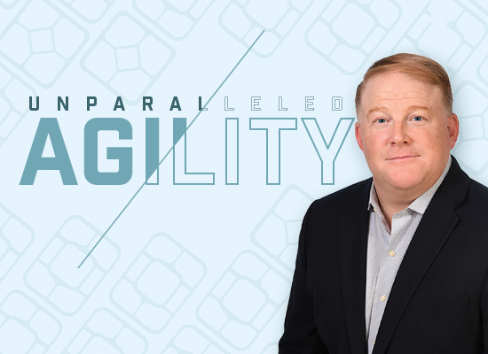 Unparalleled Agility: A Q&A With Doug Burris