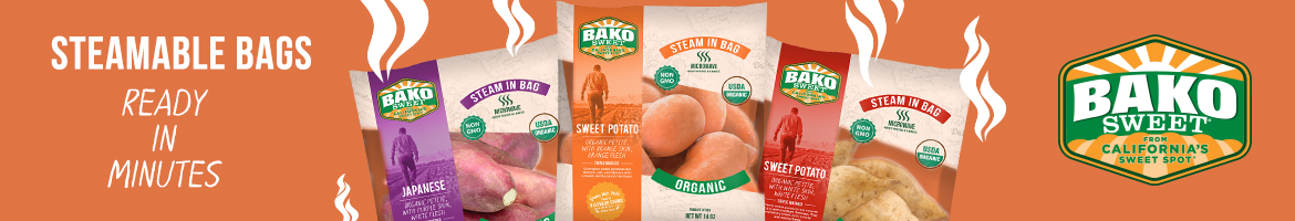 Bako Sweet - NEW Steamer Bags - Ready in Minutes!
